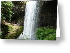 Silver Falls 2 Greeting Card
