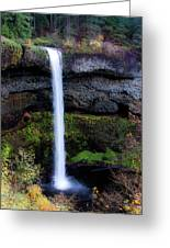 Silver Falls State Park Oregon 4 Greeting Card