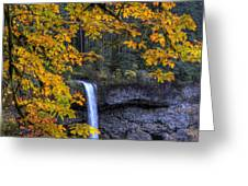 Silver Falls State Park Oregon Greeting Card