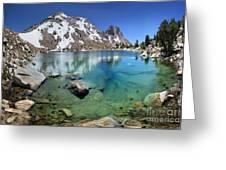 Silver Pass Tarn - Johm Muir Trail Greeting Card