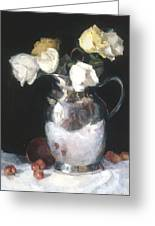 Silver Pitcher Greeting Card