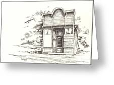 Silver Plume Ghost Town Colorado Greeting Card