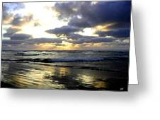 Silver Shores Greeting Card