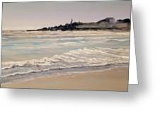 Silver Surf Greeting Card
