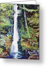Silver Thread Falls Greeting Card