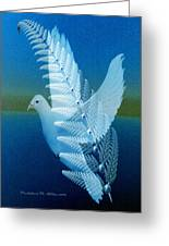 Silver-wing Greeting Card