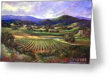 Silverado Valley Blooms Greeting Card