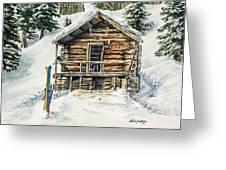 Silvertip Lodge Greeting Card