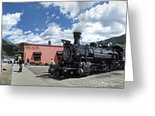 Silverton Durango Steam Train - Silverton Colorado Greeting Card