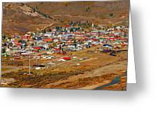 Silverton Town Site Greeting Card