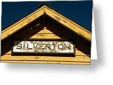 Silverton Train Station Greeting Card