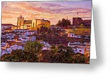 Silves Dusk Greeting Card