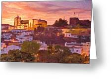 Silves, The Algarve Greeting Card