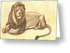 Simba The Lion Greeting Card