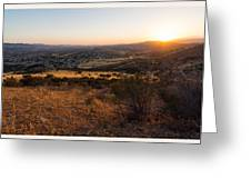 Simi Valley  Greeting Card