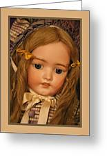 Simon And Halbig Antique Doll Greeting Card