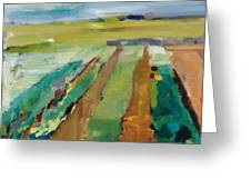 Simple Fields Greeting Card