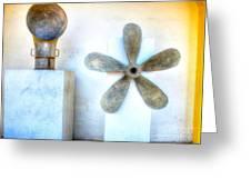 Simple Sculptures Greeting Card