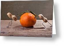 Simple Things - Antagonism Greeting Card by Nailia Schwarz