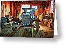 Simpler Times - Paint Greeting Card