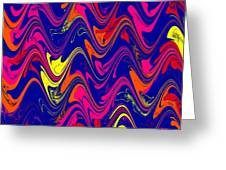 Simply Abstract Greeting Card