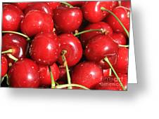 Simply Cherries  Greeting Card