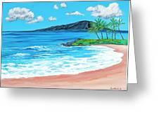 Simply Maui 18 X 24 Greeting Card