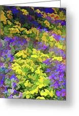 Simply Soft Colorful Garden Greeting Card