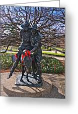Simpson And His Donkey - Canberra - Australia Greeting Card