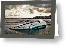 Simpson's Bay Shipwreck Greeting Card