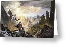 Simurgh Call Of The Dragonlord Greeting Card