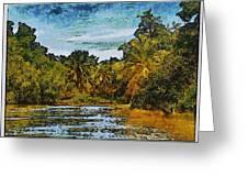 Sinamaica Lake - Venezuela Greeting Card