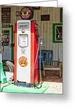 Sinclair Gasoline Greeting Card