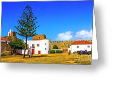 Sines Castle Greeting Card