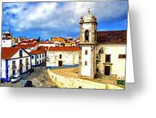 Sines Portugal Greeting Card