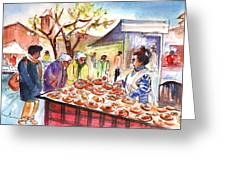 Sineu Market In Majorca 04 Greeting Card