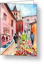Sineu Market In Majorca 05 Greeting Card