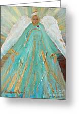 Sing Your Heart Out Angel Greeting Card