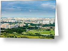 Singapore Cityscape Greeting Card