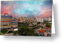 Singapore Rochor Commercial And Residential Mixed Area Greeting Card