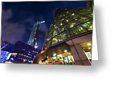 Singapore Shopping Paradise Greeting Card