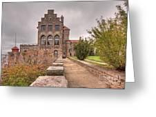 Singer Castle Greeting Card