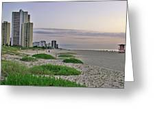 Singer Island Florida Beach Greeting Card