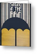 Singin' In The Rain Greeting Card by Megan Romo