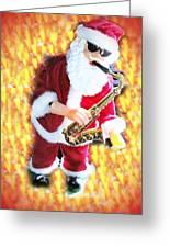 Singing Santa Greeting Card