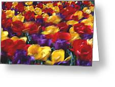 Singing Tulips L062 Greeting Card