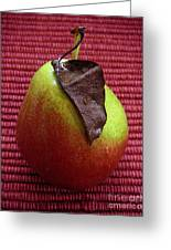 Single Pear Too Greeting Card