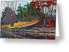 Singleton Autumn Greeting Card