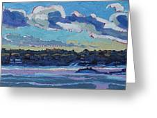Singleton Solstice Stratocumulus Greeting Card by Phil Chadwick