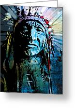 Sioux Chief Greeting Card